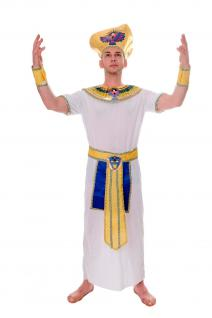 DRESS ME UP - Kostüm Herren Herrenkostüm Pharao Ägyper Ramses Mumie Gr. S/M L201