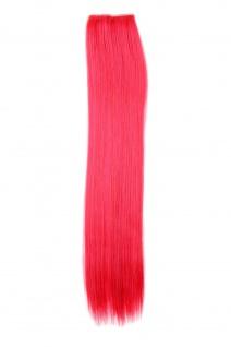 2 CLIP Extension Strähne Haarverlängerung Rot glatt 45cm YZF-P2S18-113/TF2315