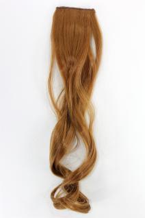 2 CLIP Extension Strähne wellig Kupfer-Blond YZF-P2C18-27 45cm Haarverlängerung