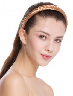 Haarband Haarreif geflochten Tracht traditionell rotblond braid CXT-001-416