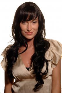 Perücke lang rabenschwarz MEDITERRANE Schönheit 9204S-2 schwarz gewellt wig NEU