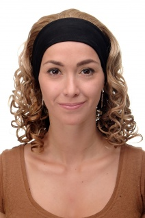 Damenperücke Perücke Stirnband voluminös Locken Blond Blond-Mix BRO-704-G15 - Vorschau 2