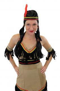 Tolles Set: Kostüm Damen Damenkostüm Indianerin Squaw Indianerfrau L019 XS, S, M, L - Vorschau 2