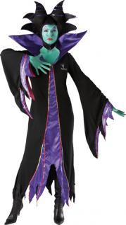 Rubies: Maleficent/Malefiz Modell 3/880148 Kleid Kostüm Dornröschen Halloween