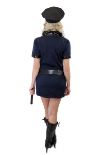 Komplettset: Kostüm Damenkostüm Sexy Politesse Polizistin Female Cop Police L006 - Vorschau 4