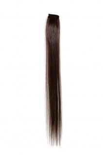 1 CLIP Extension Strähne glatt Braun YZF-P1S18-6 45cm Haarverlängerung