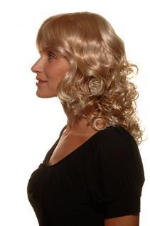 Blonde Perücke Locken halblang 4019-27T613