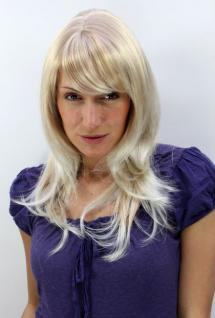 Perücke blond Scheitel 4038-27T613
