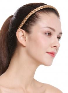 Haarband Haarreif geflochten Tracht traditionell honigblond braid CXT-004-216