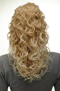 Haarteil Zopf Pferdeschwanz super Volumen Locken Blond-Mix 45 cm NC002-24BT613