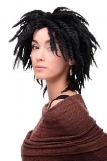 WIG ME UP Damenperücke Perücke Karibik Afro Schwarz Afrolocks Dreadlocks GFW1837 - Vorschau 3