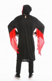 Kostüm Herren Damen Unisex Halloween Geist Gespenst Serienkiller Gr M/L M-0001 - Vorschau 4