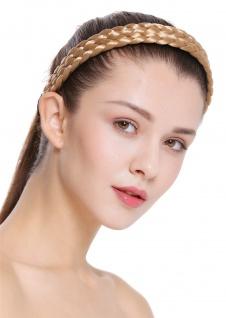 Haarband Haarreif geflochten Tracht traditionell honigblond braid CXT-002-216