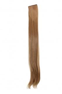 2 Clips Extension Strähne glatt Blond YZF-P2S25-18 65cm Haarverlängerung