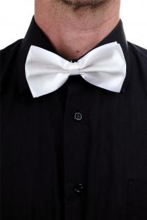 Halloween Karneval Fliege Bowtie Gentleman Weiß Mafia Don Capone 20er W-071W