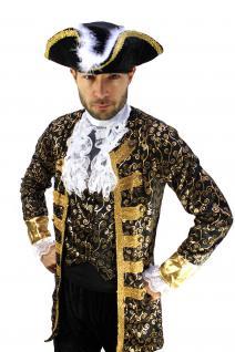 Kostüm EDELMANN Pirat Nobleman Kapitän BAROCK Karibik Mittelalter Herren K1 - Vorschau 4