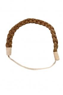 Haarteil: geflochtener Haarreif Hair Circlet Dunkel-Asch-Blond YZF-3080-22