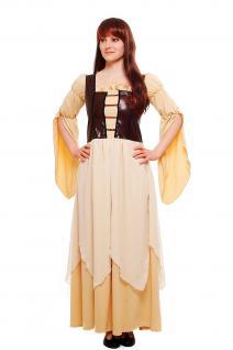 Kostüm Damenkostüm Kleid Mittelaltermarkt Mittelalter Magd Burg Hof Gothic L055