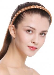 Haarband Haarreif geflochten Tracht traditionell rotblond braid CXT-003-416