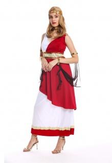Kostüm Damen Frauen Karneval Griechische Göttin Priesterin Rom Antike S/M W-0256