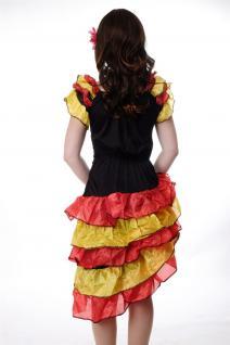 DRESS ME UP - Kostüm Damen Tango Tangotänzerin Carmen Kleid Bolero Gr. S/M L214 - Vorschau 4