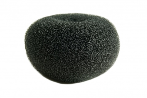 Duttkissen Haardutt Dutt Kissen Ring Haarrose Volumen Styling braun XL 15x7 cm
