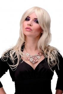 Unwiderstehlich lockige Damen-Perücke Blond Blond-Mix ca. 55cm lang 9669-303/220