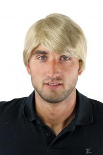 Herrenperücke Perücke Männer Kurz Jugendlich Lässig Modisch Blond GFW-964-24 Wig