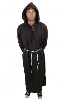 Kostüm Herren Herrenkostüm Mönch Priester Klosterbruder Mönchskutte L022