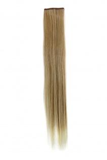 2 CLIP Extension Strähne glatt Blond-Mix YZF-P2S18-24BT613 45cm Haarverlängerung