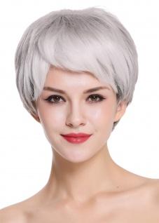 WIG ME UP Damenperücke Perücke Damen edel ältere kurz glatt Schwarz Grau Mix - Vorschau 4