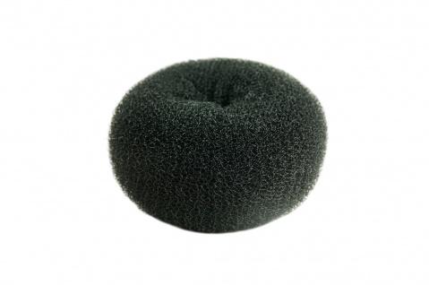 Duttkissen Haardutt Dutt Kissen Ring Haarrose Volumen Styling schwarz groß 10x5