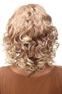 Damenperücke Perücke Stirnband voluminös Locken Blond Blond-Mix BRO-704-27T613 - Vorschau 4