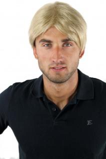Herrenperücke Männer Perücke Kurz Jugendlich Lässig Modisch Blond GFW-933-24