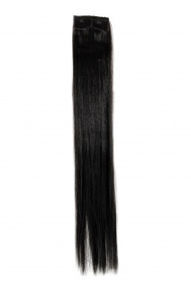2 Clips Extension Strähne glatt Dunkelbraun YZF-P2S18-4 45cm Haarverlängerung