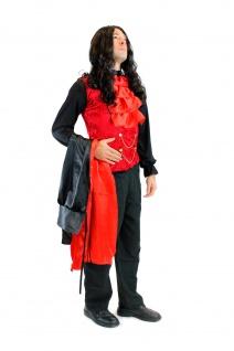 DRESS ME UP - Kostüm Herren Dracula Vampir Dunkler Graf Barock Mittelalter L061 - Vorschau 5