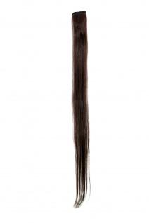 1 CLIP Extension Strähne glatt Braun YZF-P1S25-6 65cm Haarverlängerung
