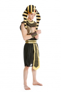 Kostüm Herren Männer Karneval Halloween Ramses Ägypter Pharao S/M - Vorschau 2