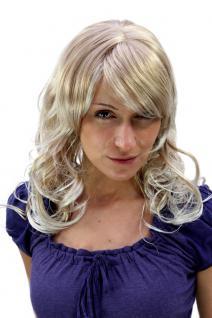 Damen, Perücke, UNWIDERSTEHLICH, gesträhntes, BLOND, gewellt, lang, 55 cm, 9669-27T613