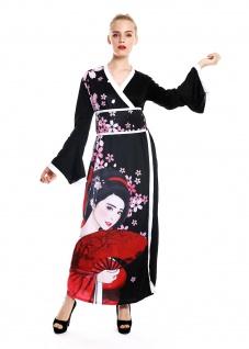 Kostüm Damen Frauen Karneval Kimono Japan China Geisha Kurtisane S/M W-0288