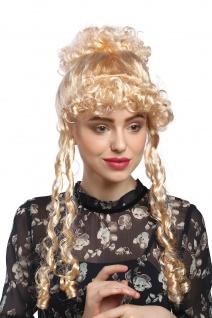 Perücke Dame Karneval Fasching historisch Biedermeier Romantik Renaissance Blond
