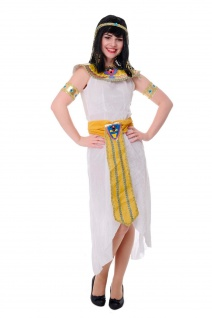 DRESS ME UP - Kostüm Damen Kleopatra Cleopatra Pharaonin Ägypten Mummy Gr. S/M