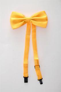 DRESS ME UP Halloween Karneval Fliege Bowtie Orange Zirkusdirektor Clown W-071S - Vorschau 2