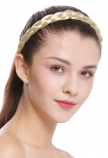 Haarband Haarreif geflochten Tracht traditionell hellblond braid CXT-006-320