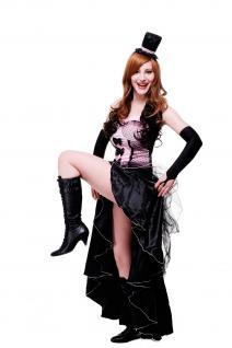 Kostüm Damenkostüm Burlesque Can-Can Girl Saloon Tänzerin burlesk L056