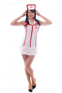 Sexy Krankenschwester Kostüm Pflegerin Krankenhaus Doktor Rollenspiele L025