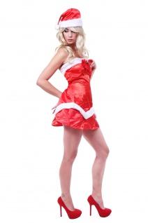 Kostüm Damenkostüm Sexy Santa Elf Weihnachtsfrau Weihnachtselfe Christmas L087