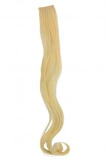 1 CLIP Extension Strähne wellig Hell-Blond YZF-P1C18-88 45cm Haarverlängerung