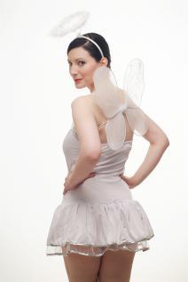 Kostümset Damenkostüm Kleid : Sexy Engel Angel Engelchen Unschuld Ballerina L018 - Vorschau 2