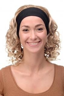 Damenperücke Perücke Stirnband voluminös Locken Blond Blond-Mix BRO-704-27T613 - Vorschau 2